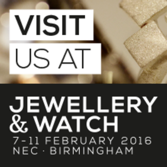 #JW16 Jewellery & Watch 7-11 February 2016 NEC Birmingham
