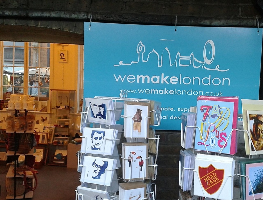 We Make London Pop up Boutique at Camden Lock